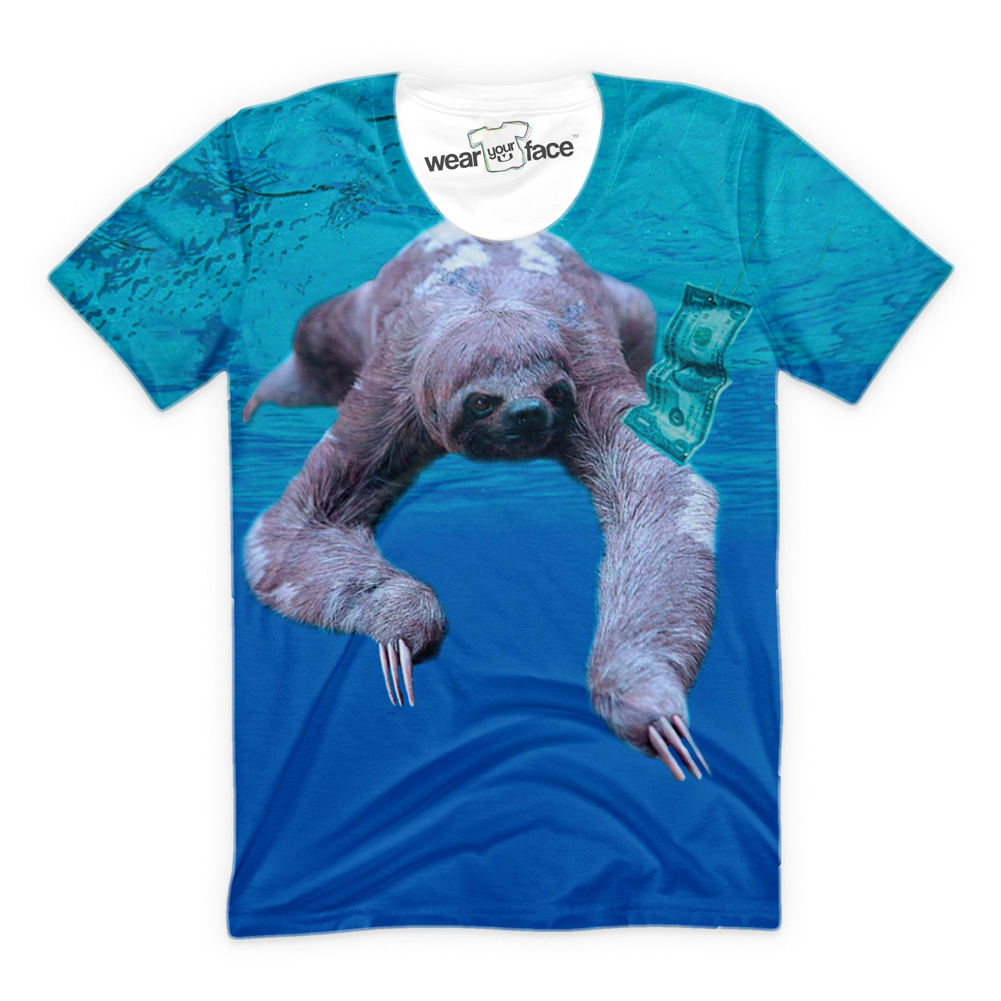 Nirvana Sloth T-Shirt