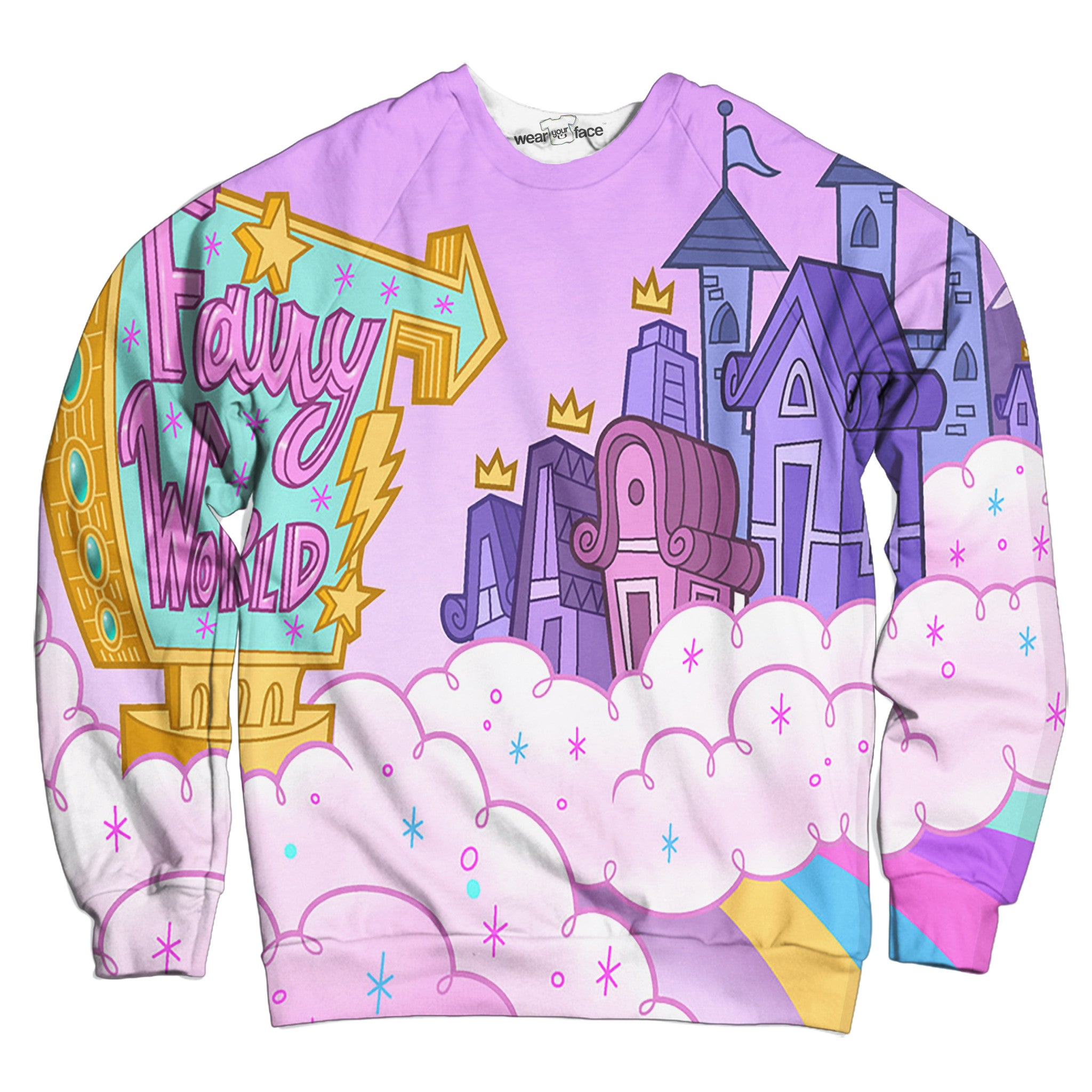 Fairy Odd Parents World Sweatshirt