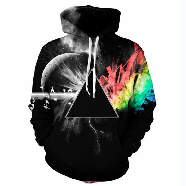 Space Refraction Hoodie
