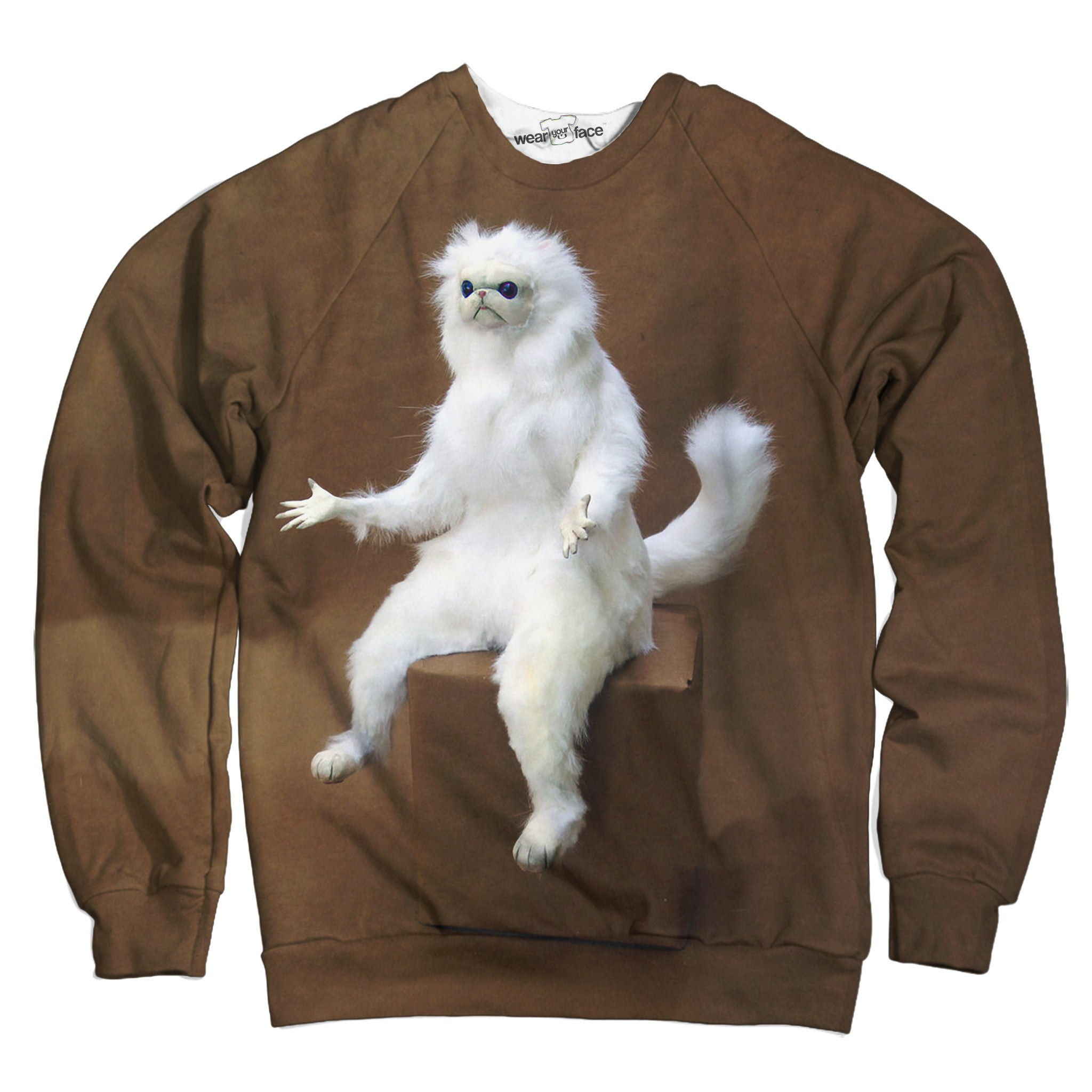 Persian Cat Room Sweatshirt