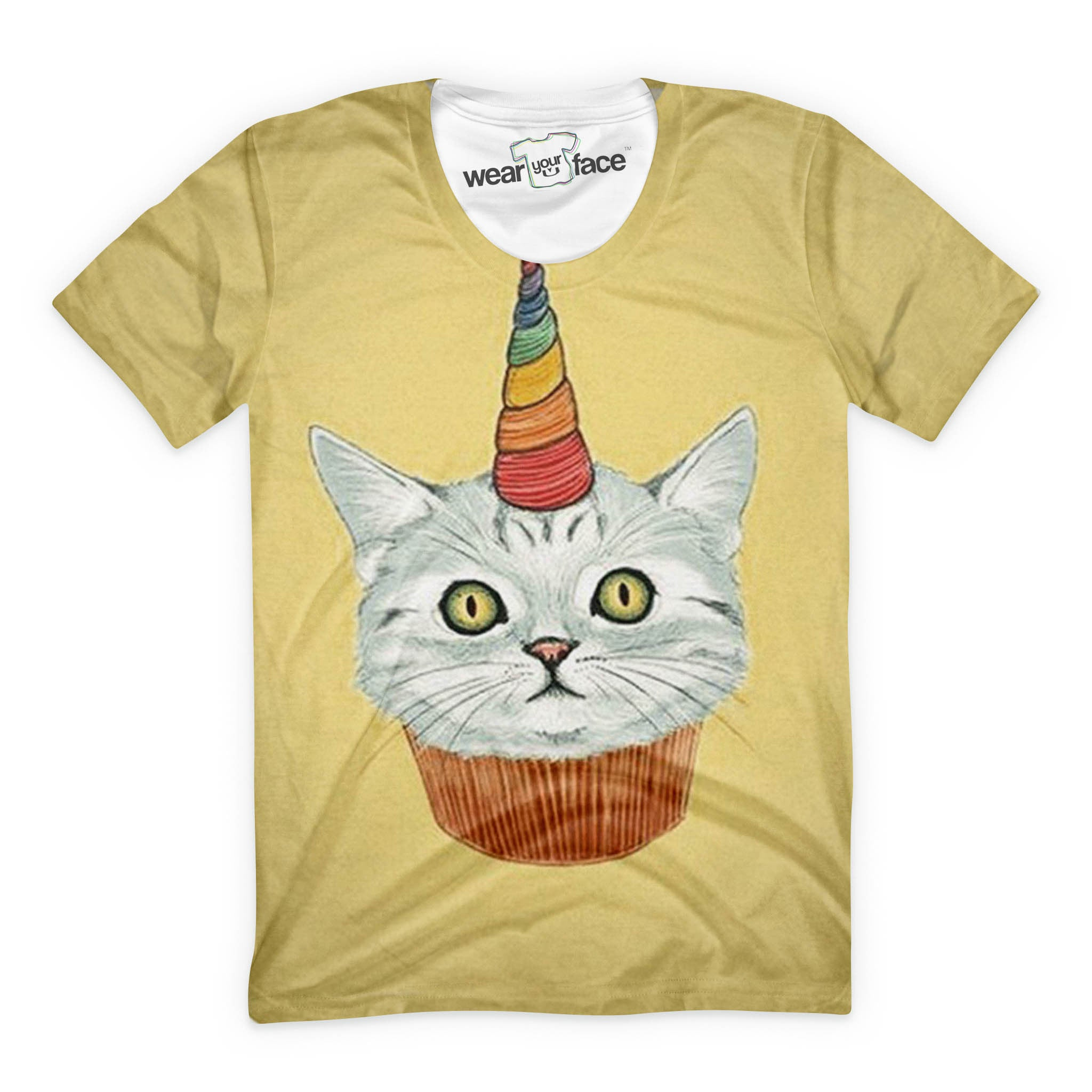 Cupcake Unicorn Cat T-Shirt