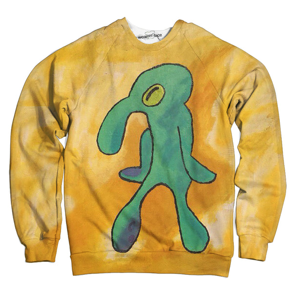 Pastel Squidward Sweatshirt