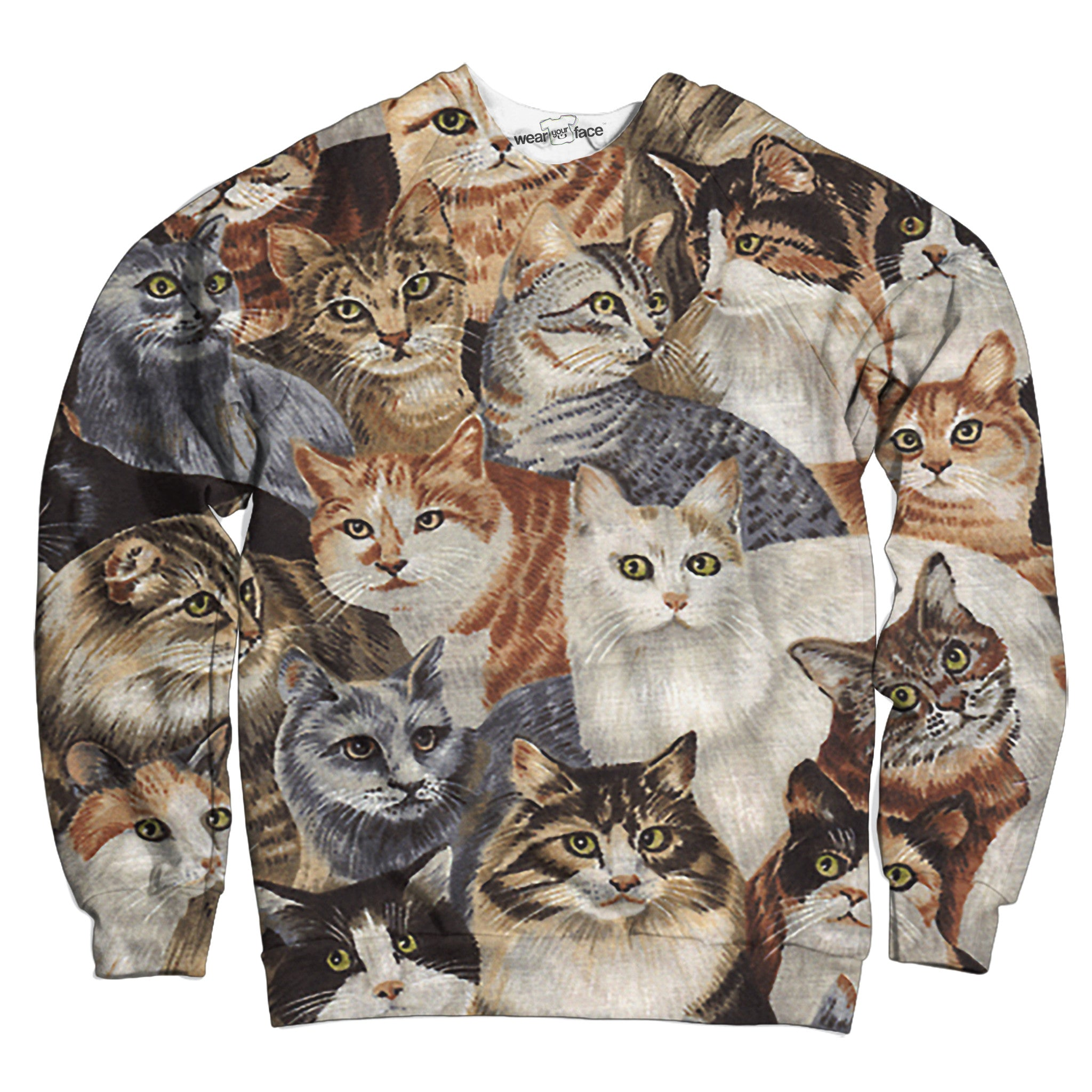 Too Many Cats Sweatshirt
