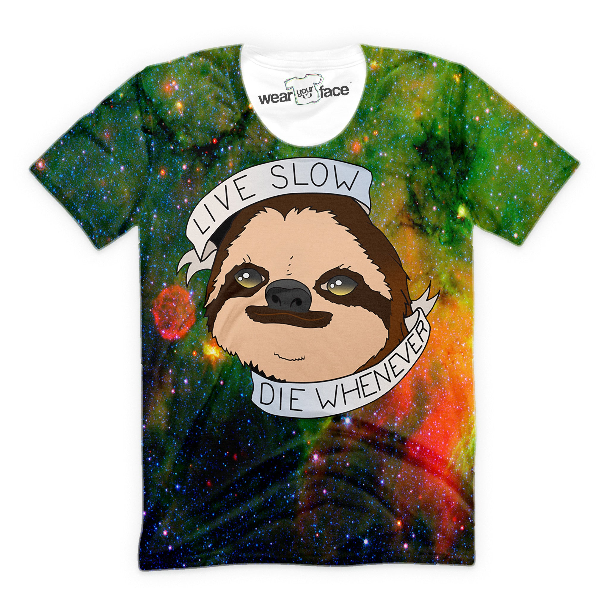 Live Slow, Die Whenever Sloth T-Shirt