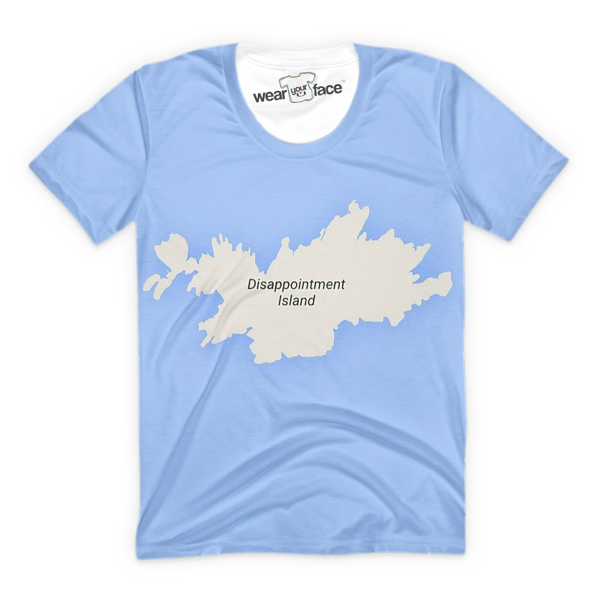 Disappointment Island T-Shirt – WearYourFace 4e491d6af