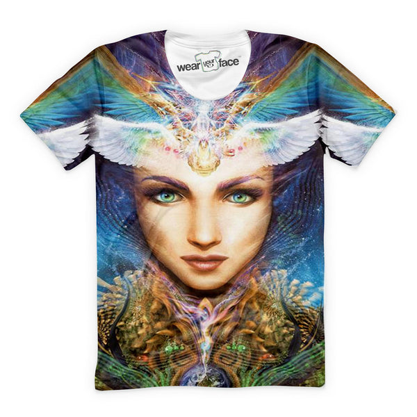 Psychedelic Lady T-Shirt