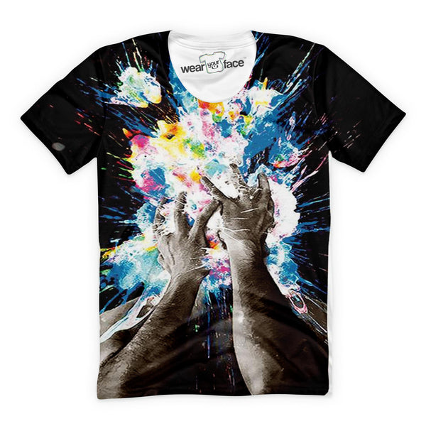 Artistic Explosion T-Shirt
