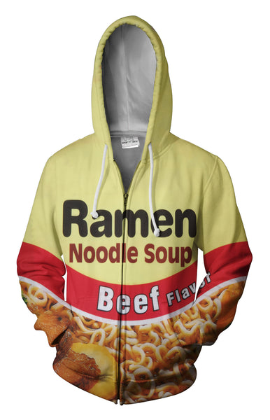 Top Ramen Beef Zip Up Hoodie