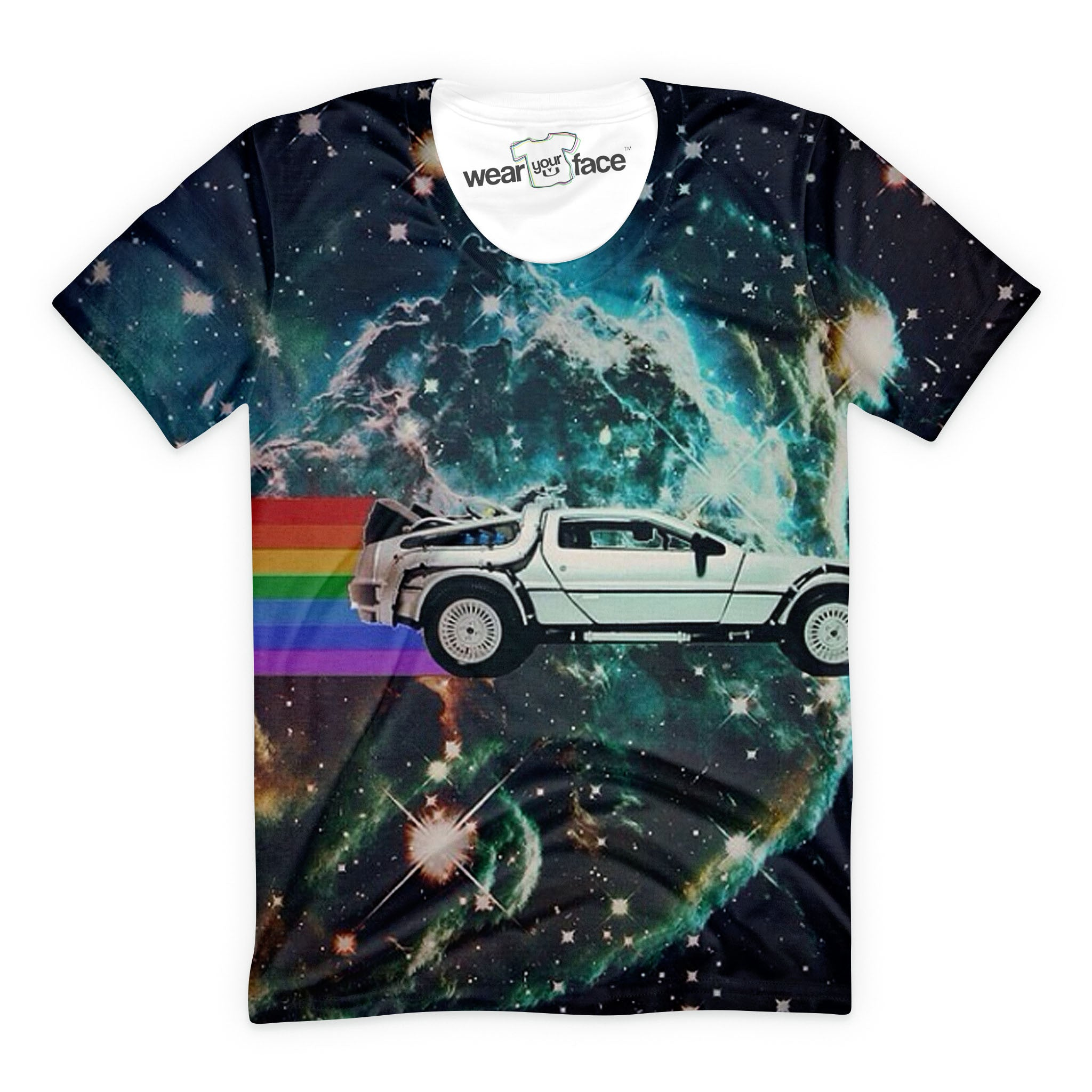 Delorean Space Travel T-Shirt