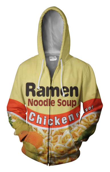 Top Ramen Chicken Zip Up Hoodie