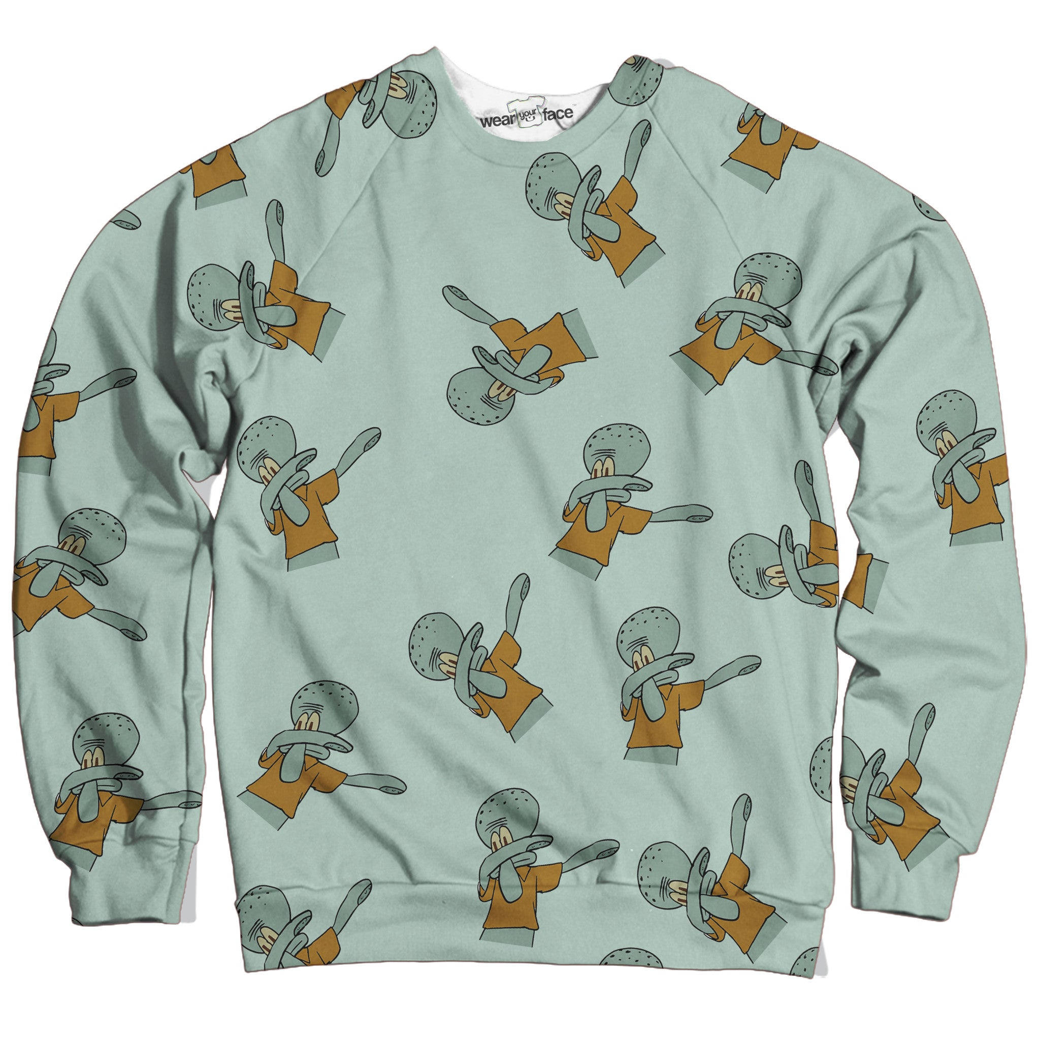 Dabbing Squidward Sweatshirt