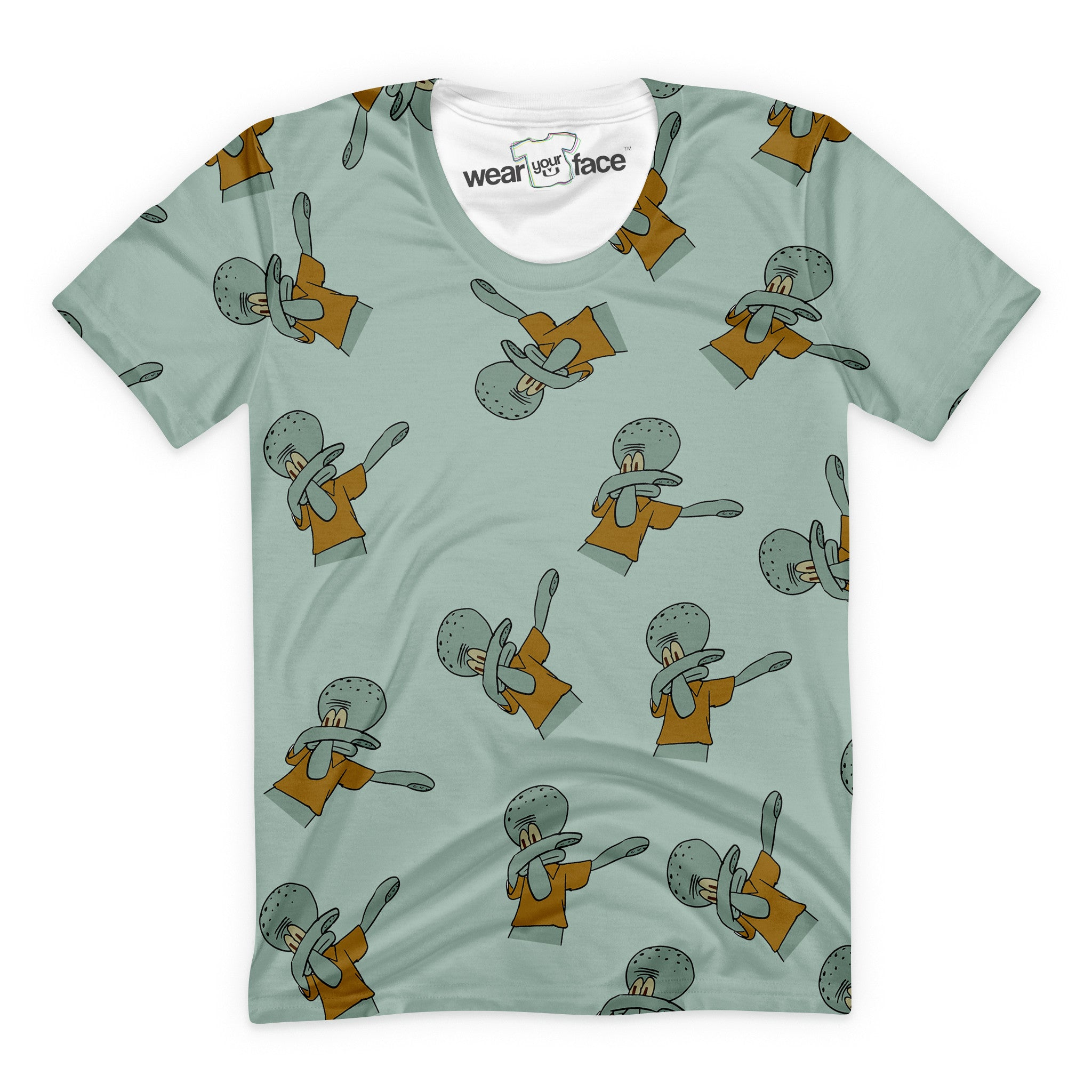 Dabbing Squidward T-Shirt