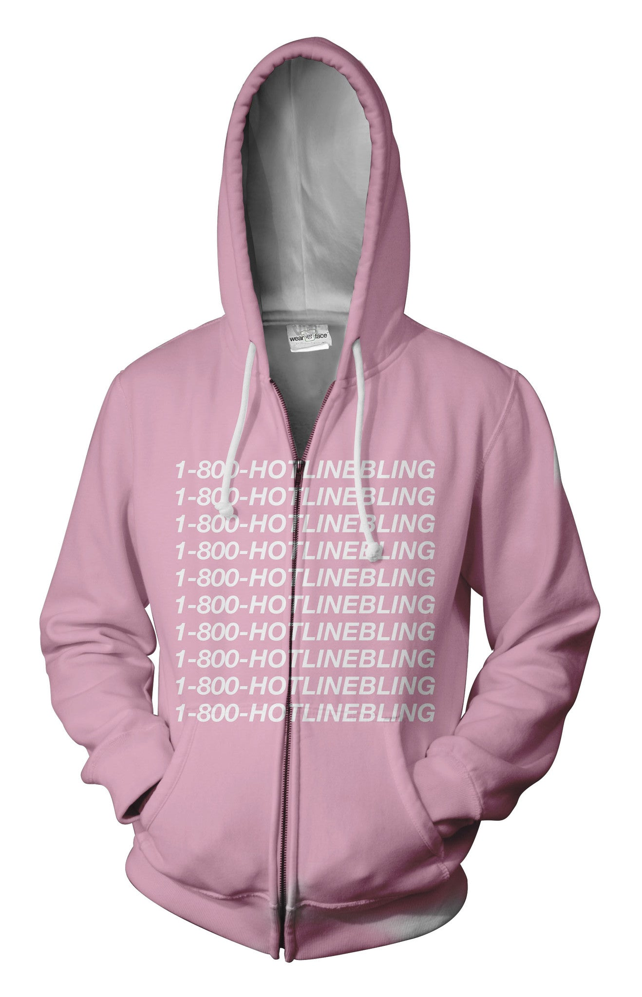 Hotline Bling Zip Up Hoodie