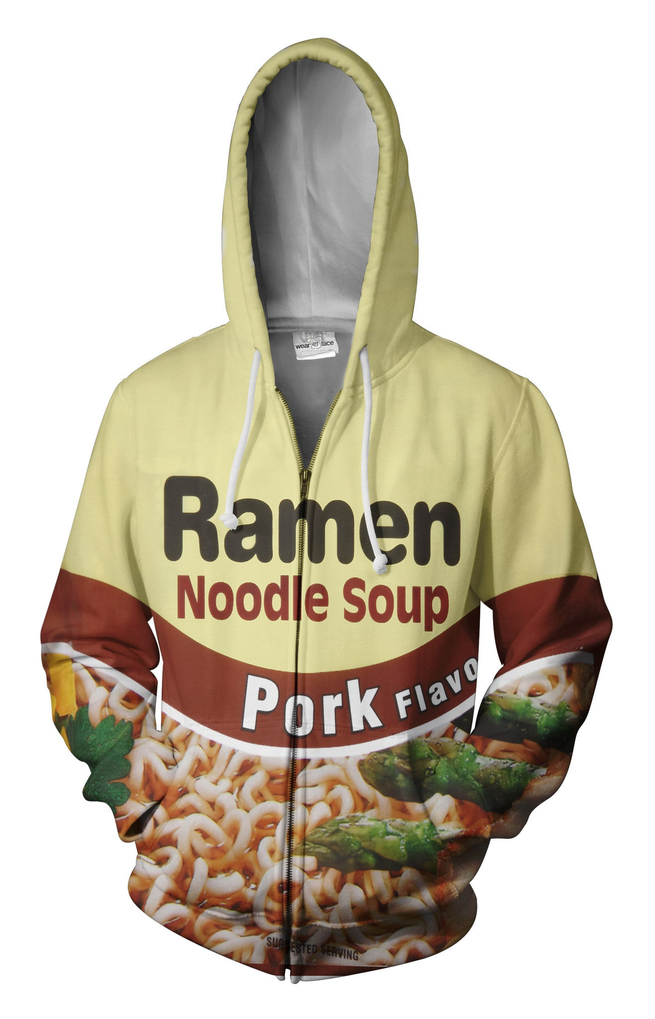 Top Ramen Pork Zip Up Hoodie