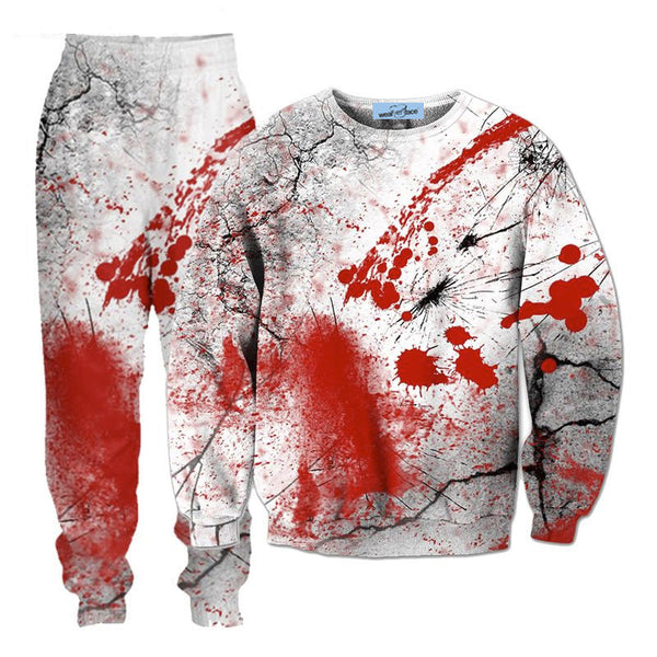 Blood Splatter Tracksuit