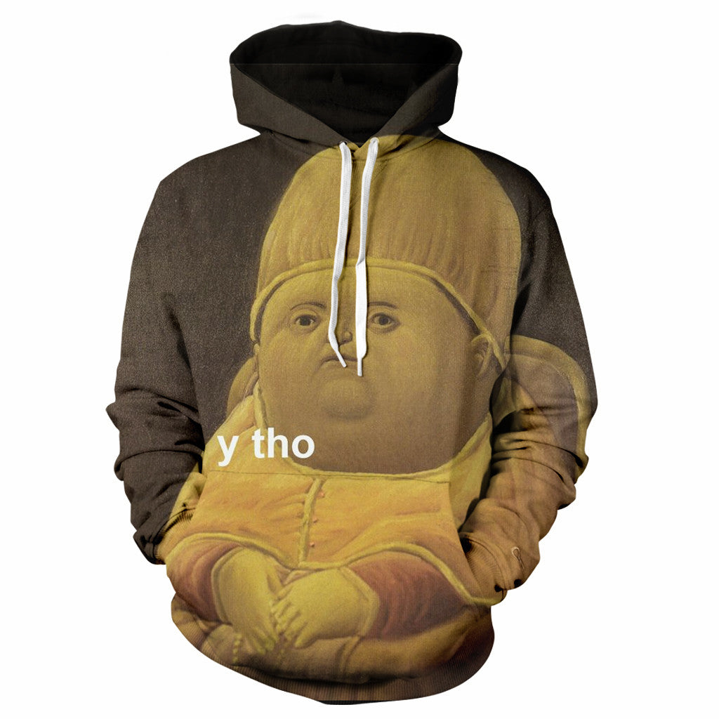 65df6739eae The Original Y Tho Hoodie – WearYourFace