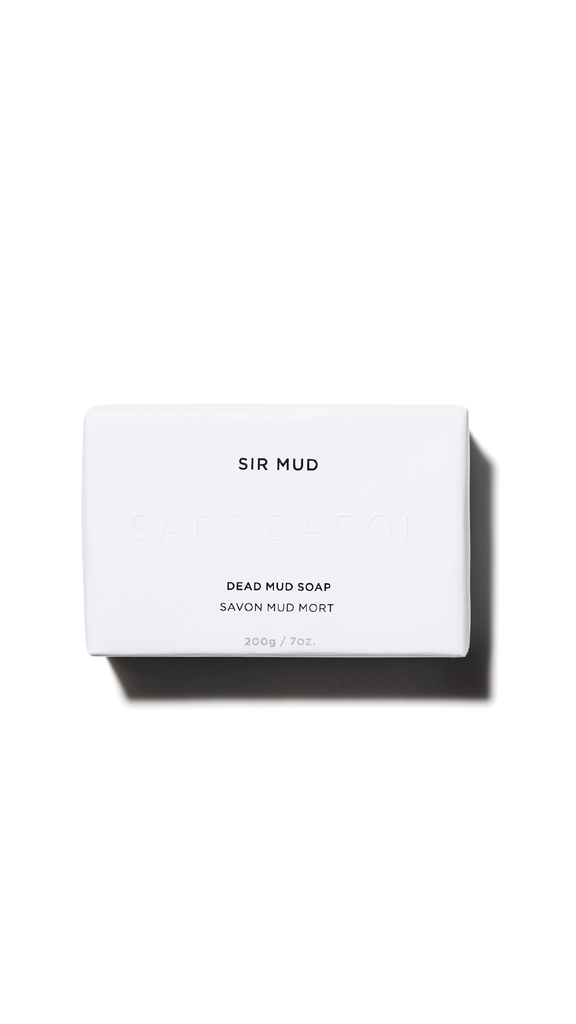 Dead Mud Sea Soap wrapped in FSC recycled packaging