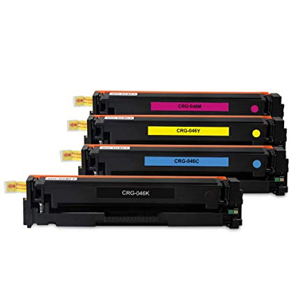 Canon 046 Toner 4 Colors Set ( 046 Hi-Capacity ) - American Toner Supply