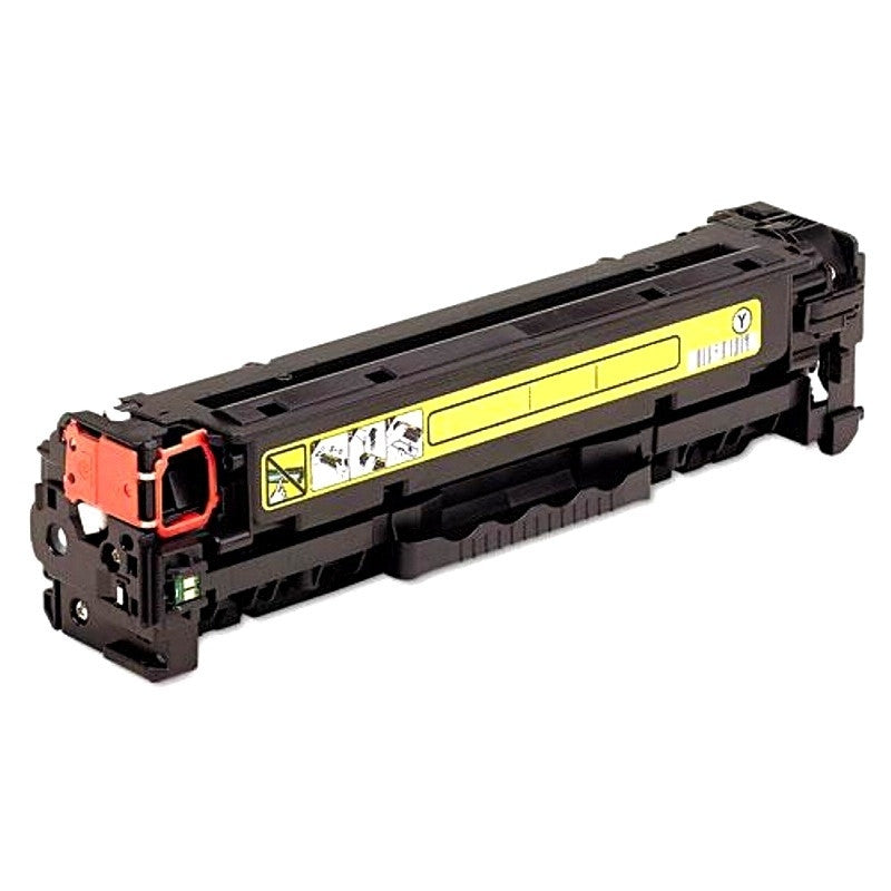 HP 312A - CF382A Toner Compatible Cartridge Yellow - HP LaserJet Pro MFP M476 Series - American Toner Supply
