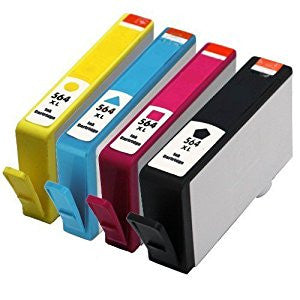 HP 564XL Remanufactured Ink Cartridge 4 Pack Value Bundle (With New Chip) - American Toner Supply