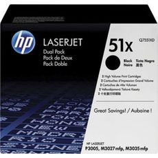 HP Q7551XC (51X) Original Black Toner -NEW - American Toner Supply