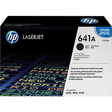 HP 641A Black Original Toner Cartridge (C9720A) - NEW - American Toner Supply