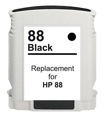 Hp 88 Black Compatible Ink Cartridge - American Toner Supply