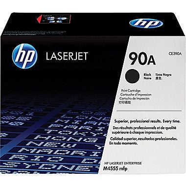 HP CE390A (90A) Original Black LaserJet Toner Cartridge - NEW - American Toner Supply