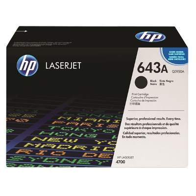 HP Q5950A (643A) 4700 Original Black Toner - American Toner Supply