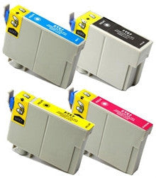 Epson T127 Remanufactured Ink Cartridge High Yield 4 Pack Value Bundle - American Toner Supply