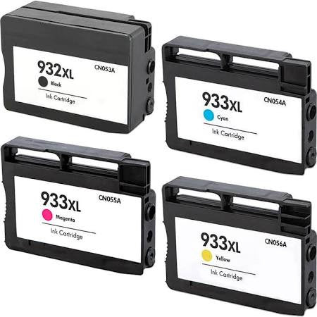 HP 932XL & 933XL Compatible Ink Cartridge 4-Pack Value Bundle (With New Chip) - American Toner Supply