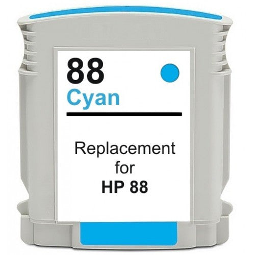 Hp 88 Cyan Compatible Ink Cartridge - American Toner Supply