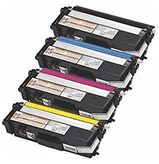 Brother TN315 / TN310 Compatible 4 Colors Set Toner 6,000 Black - 3,500 Colors - American Toner Supply