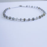 Labradorite Layering Necklace/Bracelet
