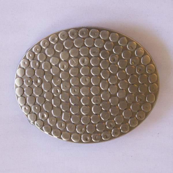 Dotted Oval Buckle