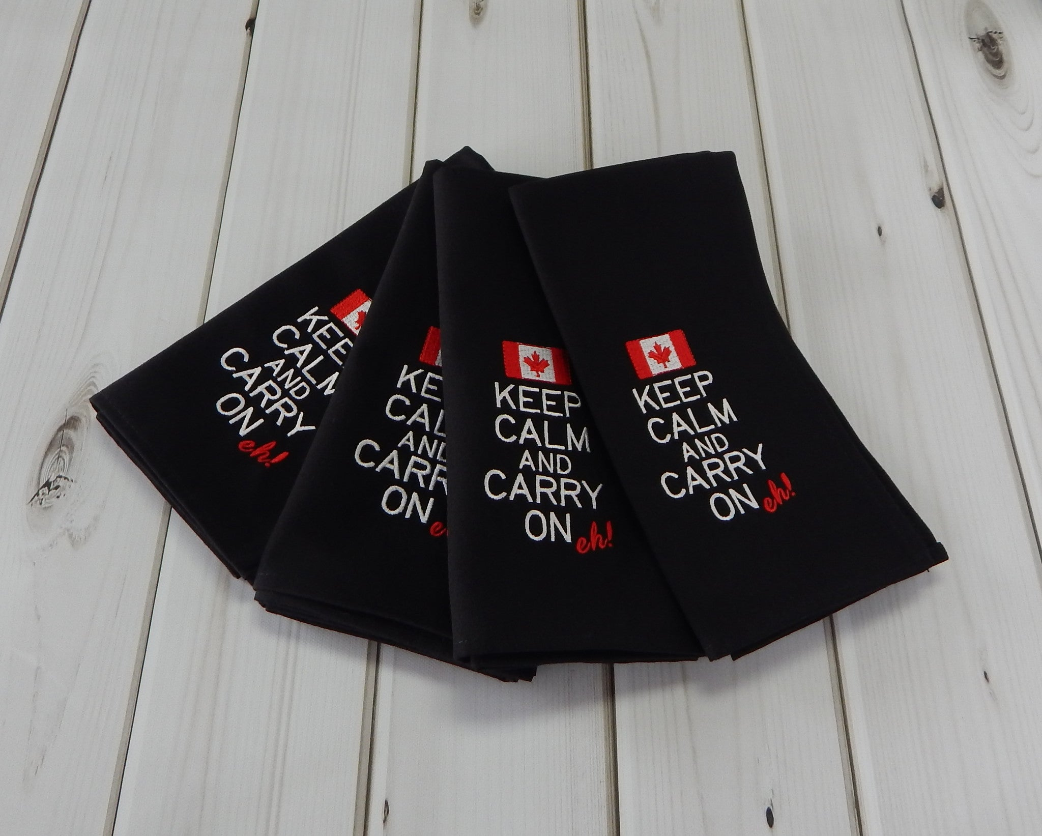 BLACK POLY CANADA - French Press Linens