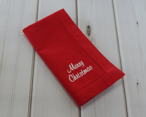 MERRY CHRISTMAS MULTI LANGUAGE - French Press Linens