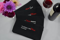 WINE - Because It's Cheaper Than Therapy - French Press Linens