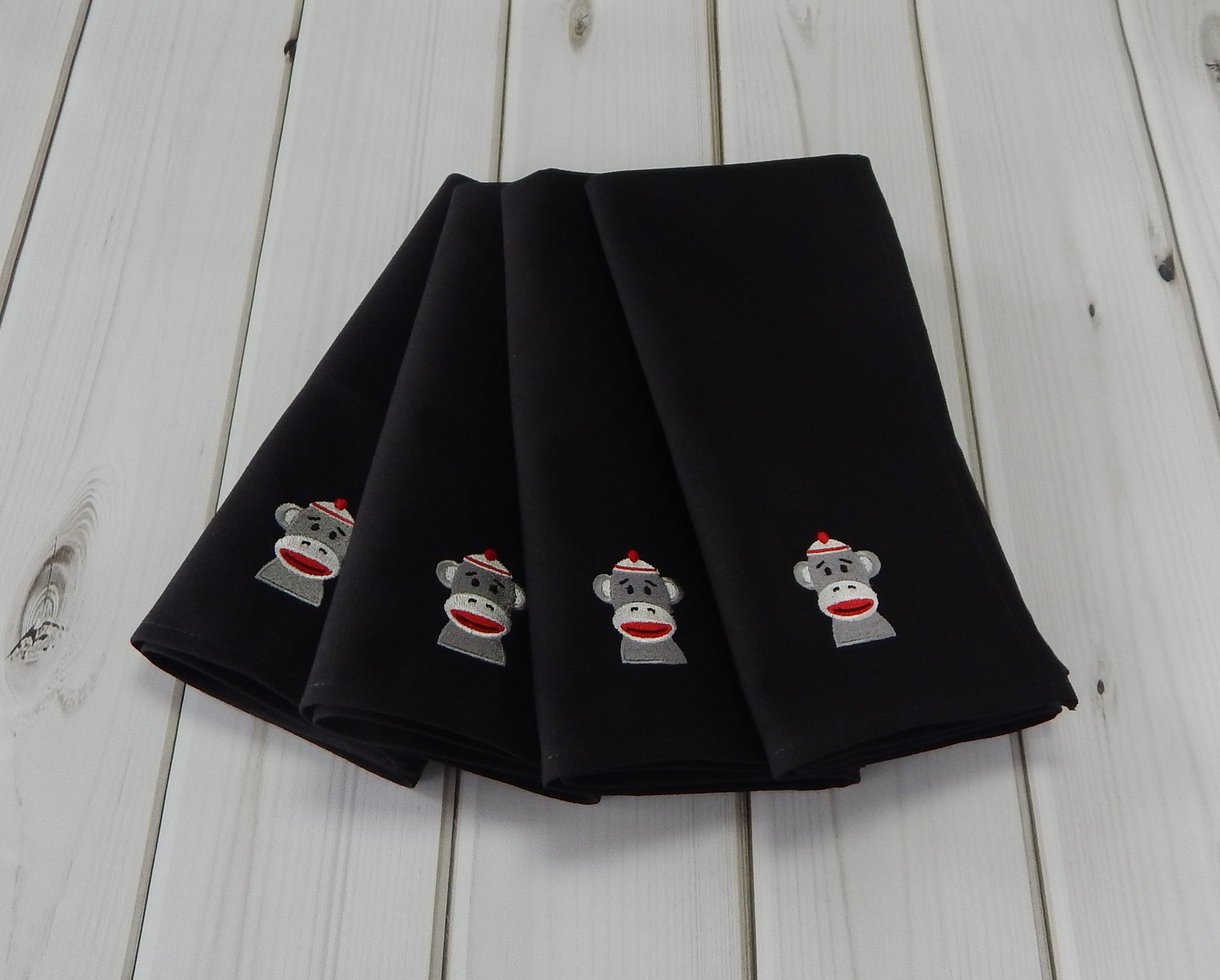 SOCK MONKEY - French Press Linens