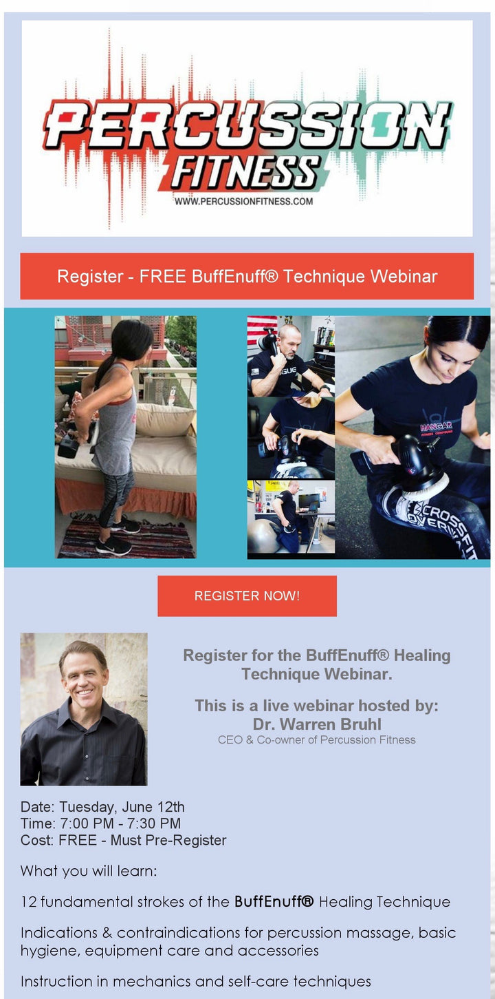 Free BuffEnuff® Technique Webinar June 12th at 7 PM CST. (Register Now)