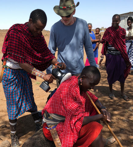 Teaching the Maasai to BE Fit, BE Flexible, & BE Ready