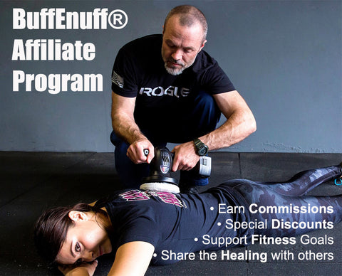 BuffEnuff Percussive Massager Affiliate Program