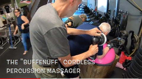 BuffEnuff Power Massager brings healing massage to Parkinson's Community at Rock Steady Boxing Program
