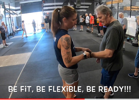 BuffEnuff masager brings healing therapies to Parkinson's Community at Rock Steady Boxing