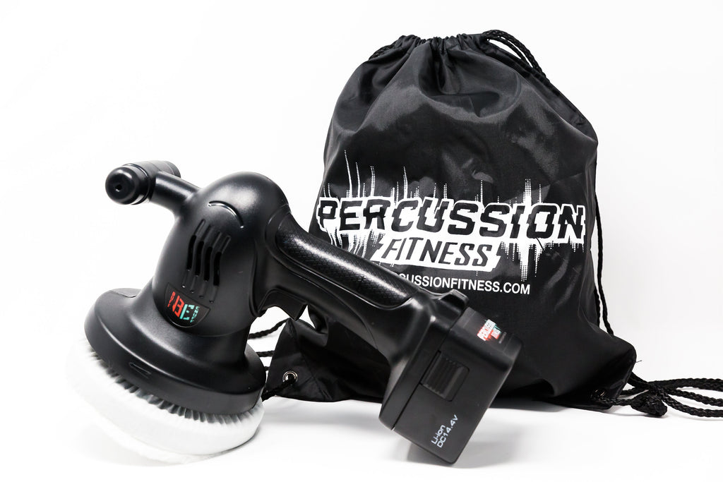 BuffEnuff® Power Massager - Standard Package includes 1-Battery, 1-Charger, 2-Crowns, 1-Carry Bag