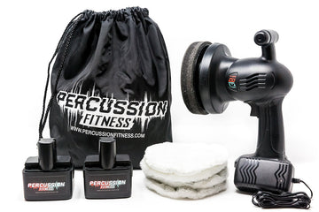 BuffEnuff® Value Package Includes 2-Batteries, 1-Charger, 4-Crowns, & 1-Carry Bag