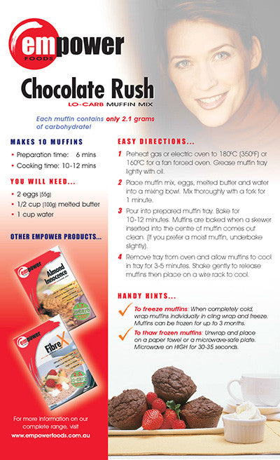 Empower Foods Chocolate Rush Muffin Mix