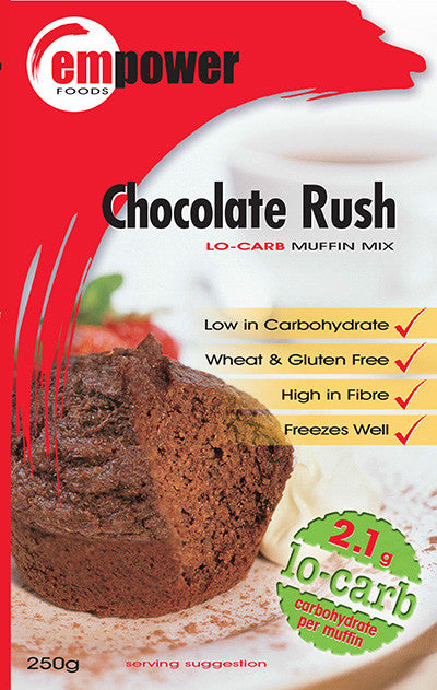Empower Foods Chocolate Rush Low Carbohydrate Muffin Mix