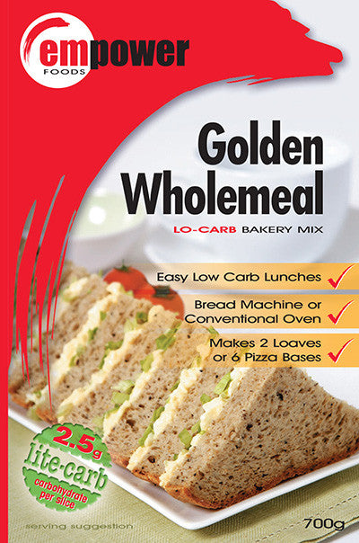 Empower Foods Golden Wholemeal Low Carb Bakery Mix