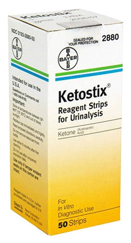 Ketostix for urine analysis when following a low carb diet